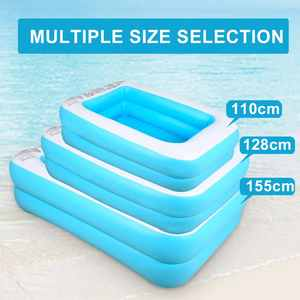 Swimming-Pool Play Inflatable Large Bathtub Water Outdoor Adult Kids Family Children