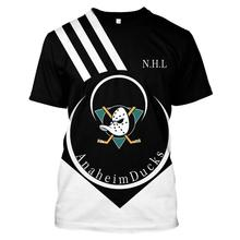 Anaheim Duck T-shirt Mens and Womens T-Shirt t Shirt Cotton Design Original Harajuku Style