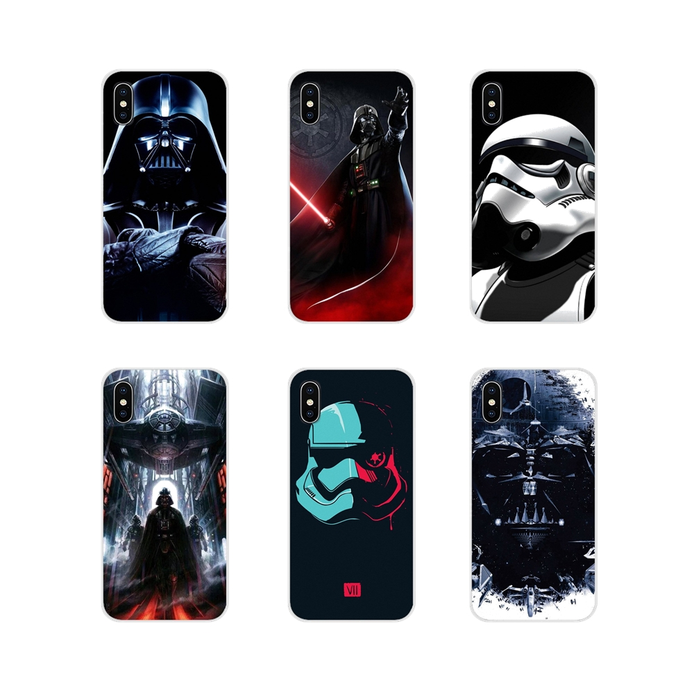 Star war Accessories Phone Shell Covers For <font><b>Huawei</b></font> G7 G8 P7 P8 P9 <font><b>P10</b></font> P20 P30 Lite Mini Pro P Smart Plus 2017 2018 2019 image