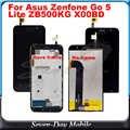 สำหรับ Asus Zenfone Go ZB500KG LCD TOUCH X00BD LCD โมดูลจอแสดงผล Touch Screen Digitizer SENSOR Glass ZB500KG LCD ASSEMBLY