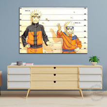 Unframed Anime Naruto Poster Naruto In The Crime Wall Pictures for Living Room Decor Canvas Art Wall Painting Cartoon Painting cartoon anime naruto poster painting nordic style prints modern wall art canvas painting wall pictures for living room decor