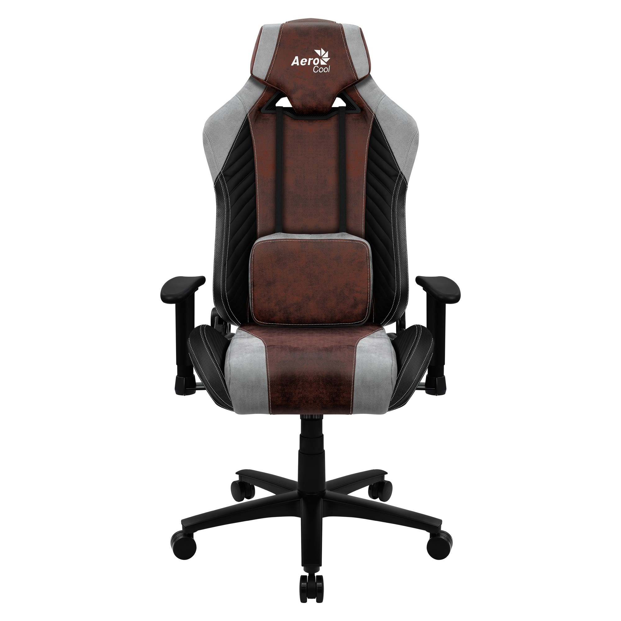 Aerocool BARON, Gaming Chair, AeroSuede, Breathable, Backstop Adjustable, Red