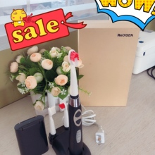 Rechargeable Sonic Toothbrush Electric Toothbrush Adult three heads