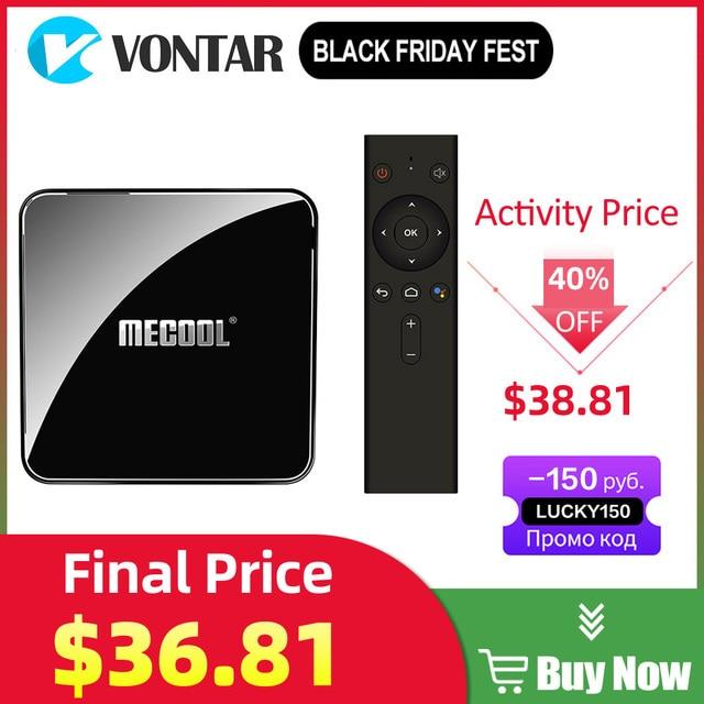 Mecool KM3 KM9 pro Android 10 TV Box Google Certified Smart TV Box Android 9.0 S905X2 USB3.0 2.4G/5G Wifi 4K Media Player TVBox