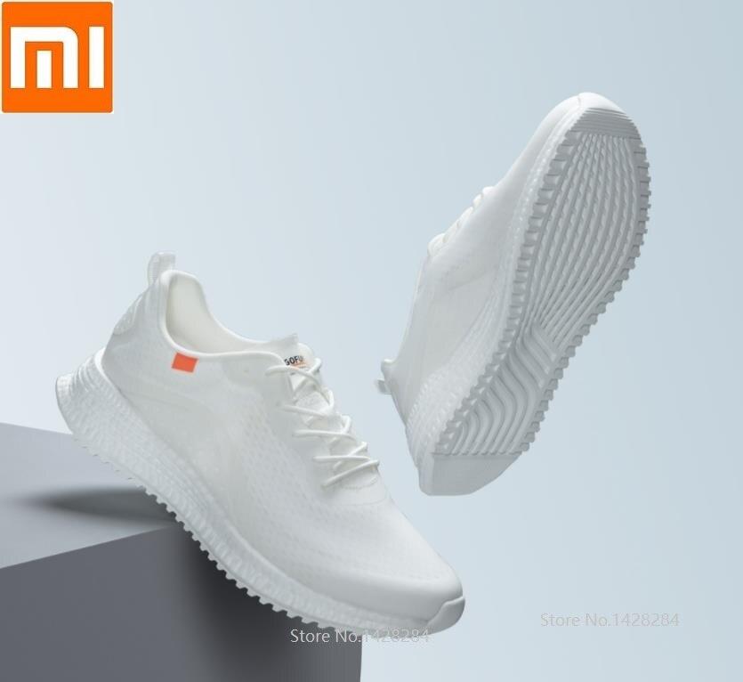 Xiaomi 90 мужские кроссовки для бега дышащий для занятий спортом на улице кроссовки спортивные амортизирующие мужские противоударные подошвы ... - 3