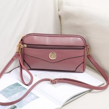 цена на Womens Bags Handbags Luxury Famous Designer Messenger Handbags Ladies Casual PU Women Hobos Bolsa Feminina Crossbody Bag