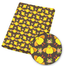 Полиэфирная хлопковая ткань простыня ткани Мультяшные пасхальные