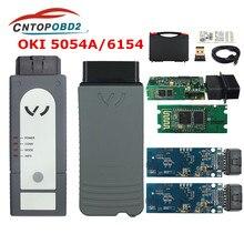 5054a original oki completo chip bluetooth amb2300 5054a v5.1.6 com keygen 6154 wifi uds para v grupo ferramenta de diagnóstico 6154a