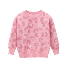 Spring Autumn New Arrival Baby Girl Clothes Childrens Sweater Kids Sweaters Girls Pink Long Sleeve O neck Kids Knitted Sweater