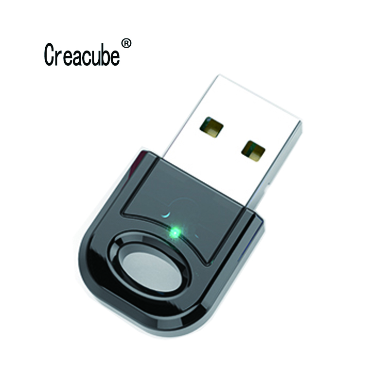 Creacube Wireless USB Bluetooth 5.0 Adapter Bluetooth Dongle Music Sound Receiver Adapter Bluetooth Transmitter For PC RTL8761B