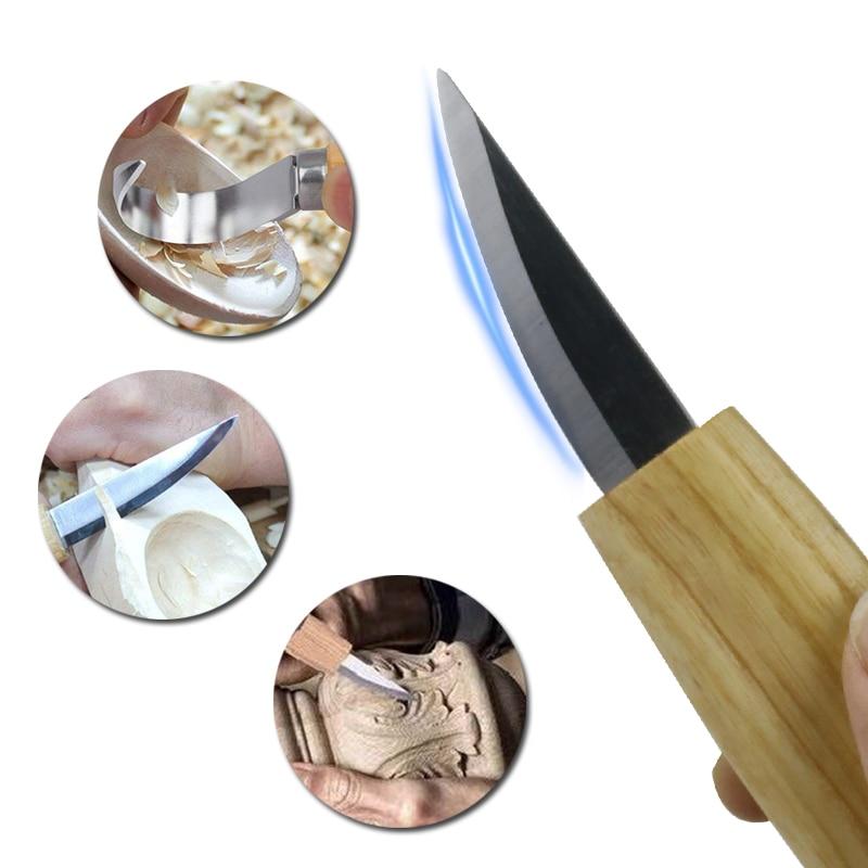 Купить набор для резьбы по дереву набор ручной резец нож с острыми