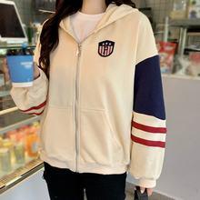 Повседневная куртка liva girl толстовки весна осень корейский