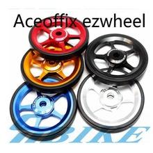 5 цветов велосипед Easywheel 1 пара алюминиевый сплав супер легкие колеса+ 2 шт. титановые болты(бесплатно) для Brompton 22 г/шт