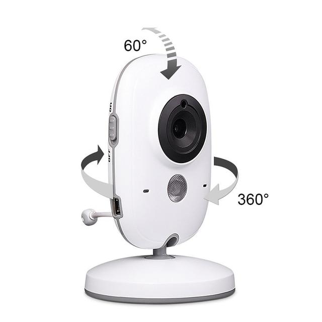 Neng Wireless Video Baby Monitor 4.2 Inch Nanny Camera 2 Way Talk Night Vision IR LED Temperature Monitor Infant Baby Sleep