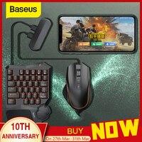 Baseus clavier souris téléphone portable adaptateur de jeu contrôleur de manette convertisseur Station de transfert de jeu Mobile pour Android et iOS