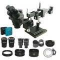 Nouveau modèle 3.5X 180X Double Boom Microscope stéréo trinoculaire soudure industrielle 38MP HDMI USB microscopio caméra kits de téléphone