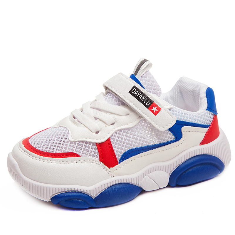 26-38 Kids Boys Girls Breathable Sports Shoes Running Sneaker Joggers Casual