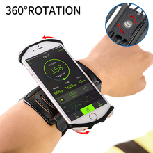 Elastic Spider Phone Wristband 360 Rotation Clip Case For iPhone 11 Pro Max 7 8 Plus Outdoor Running Sports Case For Samsung S20