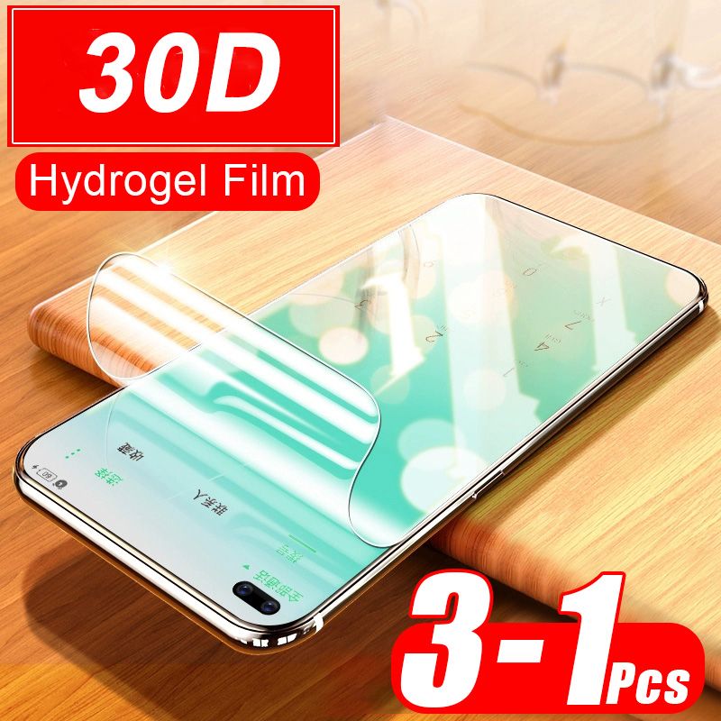 Soft Hydrogel Film For <font><b>Samsung</b></font> Galaxy S20 Ultra S10E S10 <font><b>S9</b></font> S8 Plus Note 10 9 Screen <font><b>Protector</b></font> Full Cover Front Film Not Glass image
