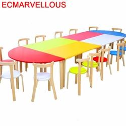 Bambini Pupitre Giet Kind Spelen Kindertisch Stoel En Kleuterschool Studie Voor Kids Mesa Infantil Bureau Enfant Kinderen Tafel
