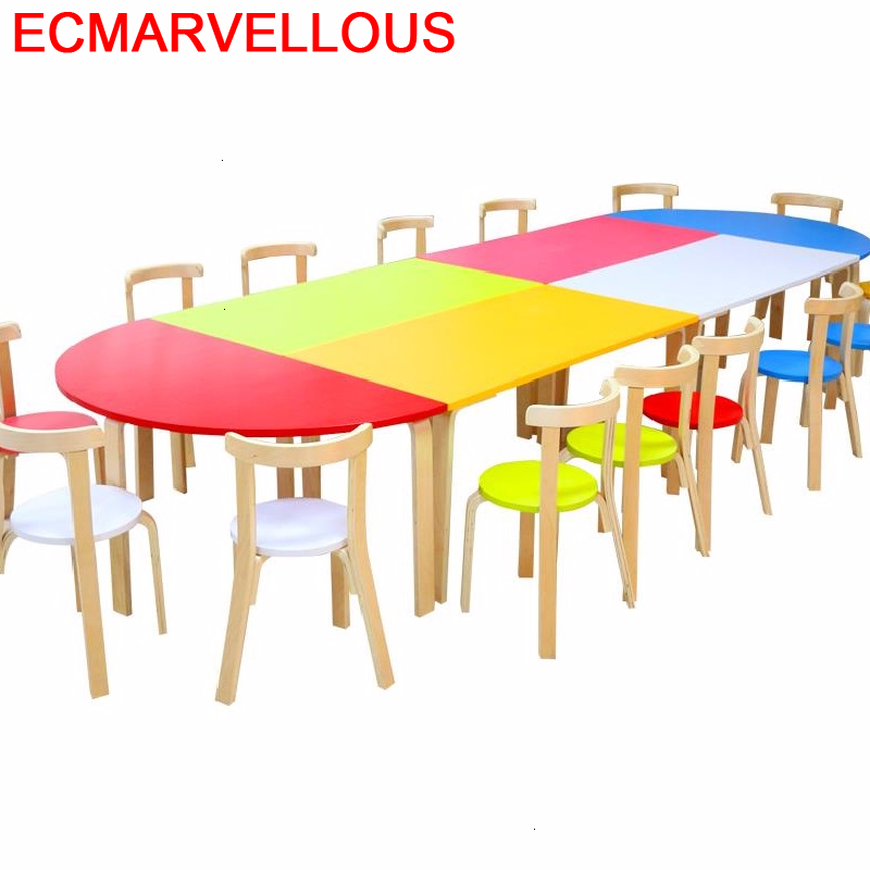 Bambini Pupitre Pour Child Play Kindertisch Chair And Kindergarten Study For Kids Mesa Infantil Bureau Enfant Children Table