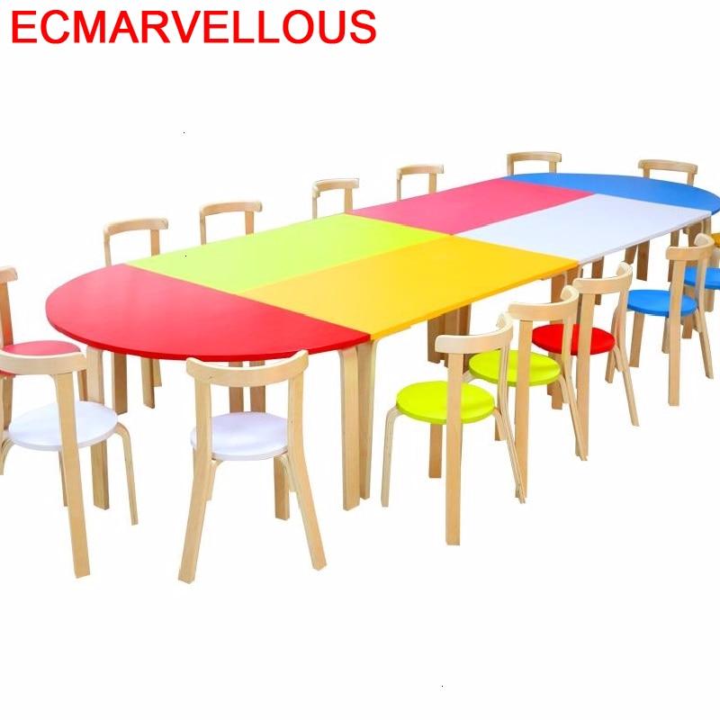 Bambini Pupitre Pour Child Play Kindertisch Chair And Kindergarten Study For Kids Mesa Infantil Bureau Enfant Children Table