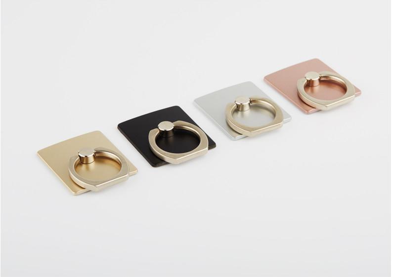 Mounchain  Vertical Portable Universal Metal Finger Ring Phone Holder 360 Degree Rotating Bracket For IPhone Samsung