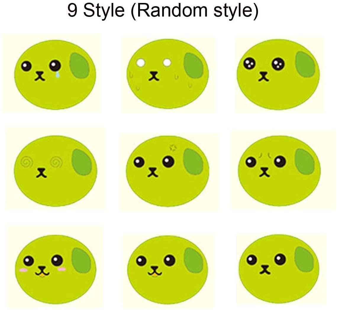 Keychain Bean Fidget Pea-Stress Improve Squeeze Edamame Squishy Focus-Toy Relief Key-Pendant img3