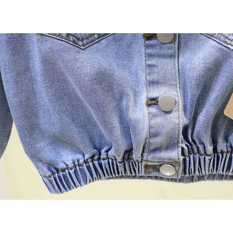 Сексуальная Мини джинсовая с открытыми плечами джинсовая куртка женская уличная modsh открытая спина укороченные синие джинсовые куртки пальто 2019 осень