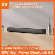 Xiaomi Redmi Mi ТВ Саундбар 30 Вт беспроводной домашний кинотеатр настенное крепление динамик Bluetooth 5,0 AUX SPDIF Mi звуковая панель для ТВ ПК