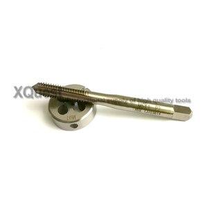 Image 3 - Hsse Metrische Schroef Hand Tap Split Sterven Set M6 M6X1.25 M6X1 Fijne Draad Ronde Sterft Kranen M6X0.75 M6X0.5 Voor Roestvrij staal