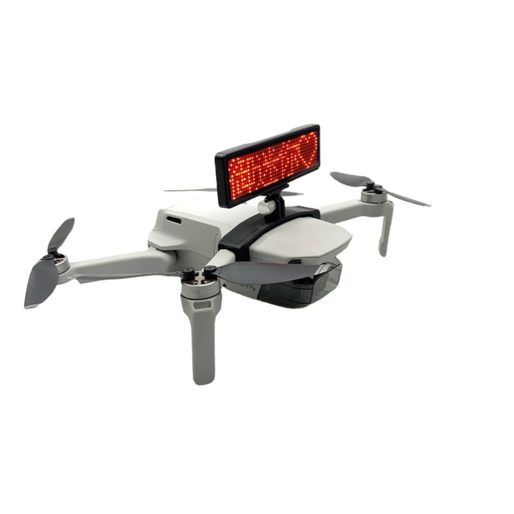 Lightweight LED Display Screen Holder For DJI Mavic Mini Drone DIY Display Board Bracket Accessories Advertising Lights Propose