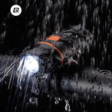 ROCKBROS Bicycle Front Rechargeable Light Cycling Bike Flashlight Waterproof Headlight Bicycle Lamp Power Bank Bike Accessories цена 2017