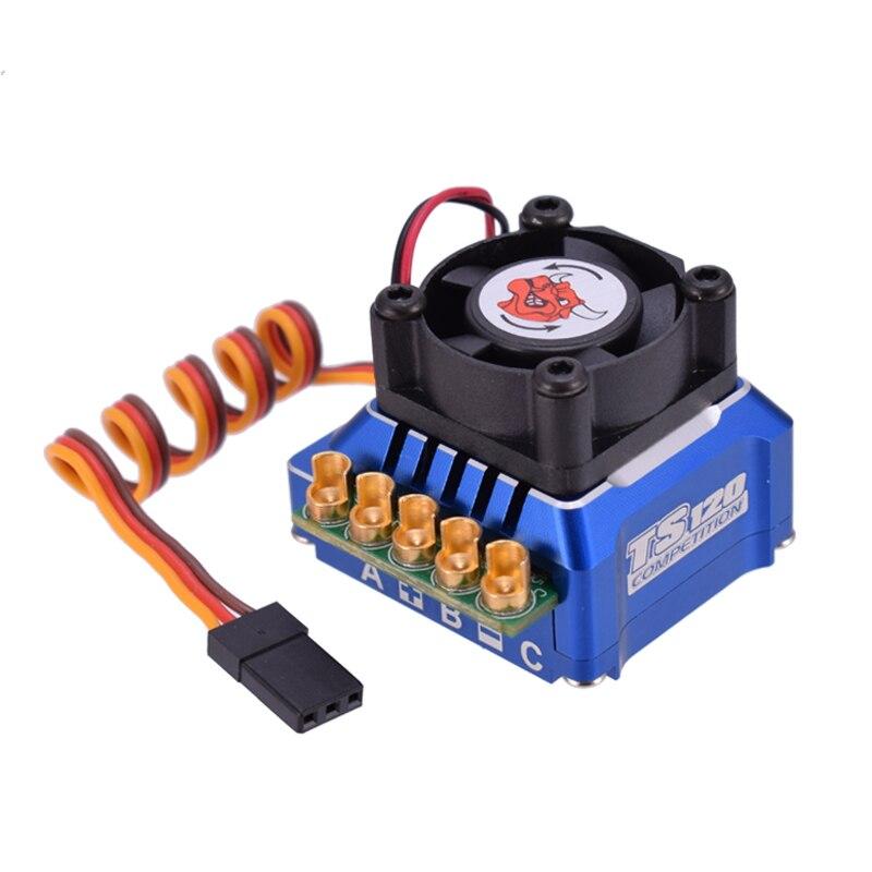 SKYRC TORO TS120 Brushless Sensored ESC Supporto Sensore Sensorless Brushless Motore Per 1:10 1:12 RC Auto Blu/Nero/ oro-in Componenti e accessori da Giocattoli e hobby su  Gruppo 2