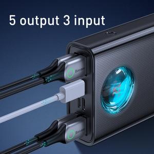 Image 5 - Портативное Внешнее зарядное устройство Baseus, 30000 мАч, 65 Вт, PD3.0, быстрая зарядка, 3,0 FCP, SCP