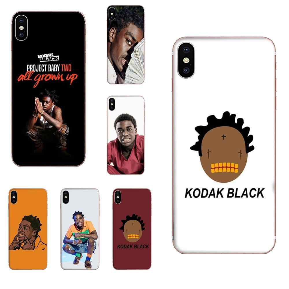 Bill K. Kapri Kodak Black Soft Tpu Fashion Case Cover Voor Apple Iphone 4 4S 5 5C 5S Se SE2 6 6S 7 8 11 Plus Pro X Xs Max Xr