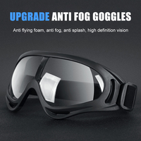 새로운 보호 고글 야외 사이클링 안티 스플래쉬 안티 박테리아 방풍 방진 안전 안경 안경 사이클링 안경