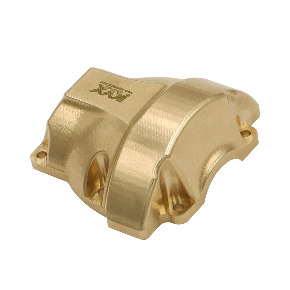 KYX Racing Brass Diff Cover for 1//10 RC Crawler Car Redcat Gen8 Scout II