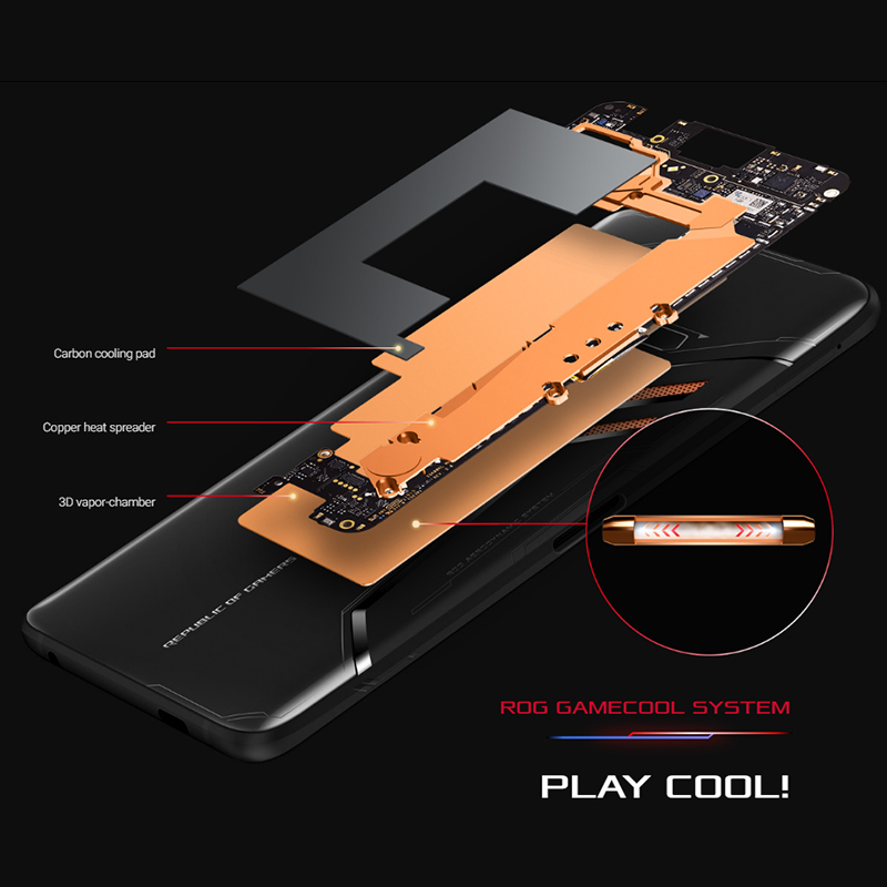 Asus ROG Phone ZS600KL Smartphone 6.0 inch Gaming Phone Android 8.1 8GB 128GB Snapdragon 845 Octa Core 4000mAh  Smartphone 4