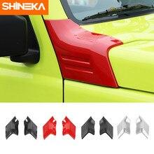 SHINEKA adesivi per auto per Suzuki Jimny 2019 accessori per la copertura della decorazione del cofano della copertura dell'angolo del motore dell'automobile per Suzuki jimny 2019 2020