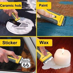 Image 2 - 면도기 스크레이퍼 도구 자동차 창 유리 Vinly 필름 스티커 색조 설치 접착제 클리너 전화 태블릿 Sreen 스퀴지 블레이드