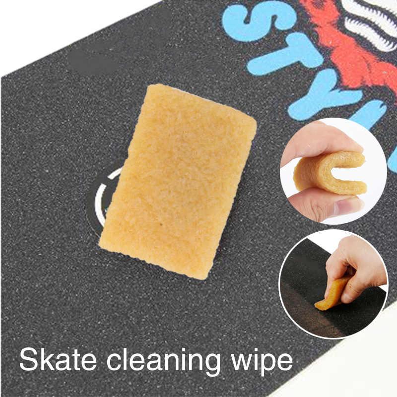 スケートボード摩擦スケートボード消しゴムカナリア黄色再利用ツールエクストリームスポーツスケートボード汚れ除去耐摩耗性