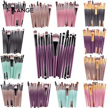 Set of 15 Makeup Brushes 1