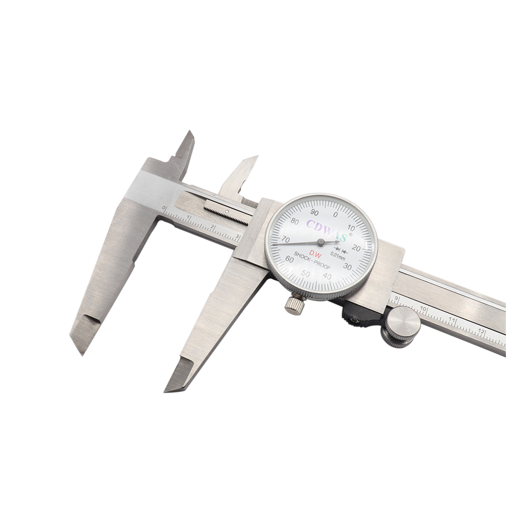 0 Precision Dial Calipers Mm 150 Vernier 01mm Metric Industry Steel 200 0 0 Tool Caliper High Shockproof Measuring 300 Stainless