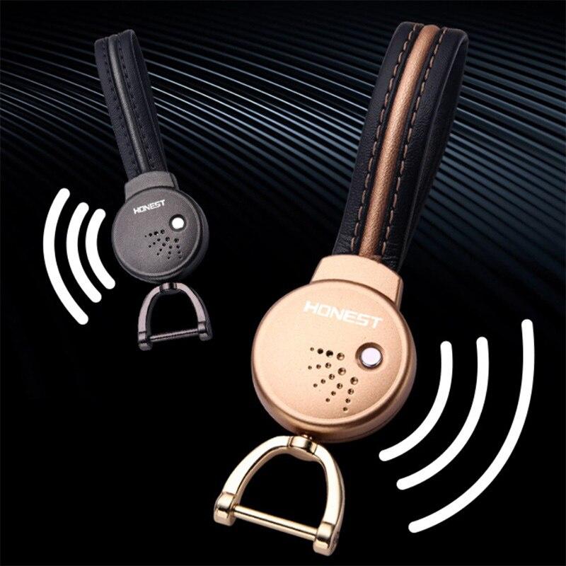 New Anti Loss Keychain Child Pet Smart Motorcycle Bluetooth Label Mini GPS Locator Keychain Tracker Tracking
