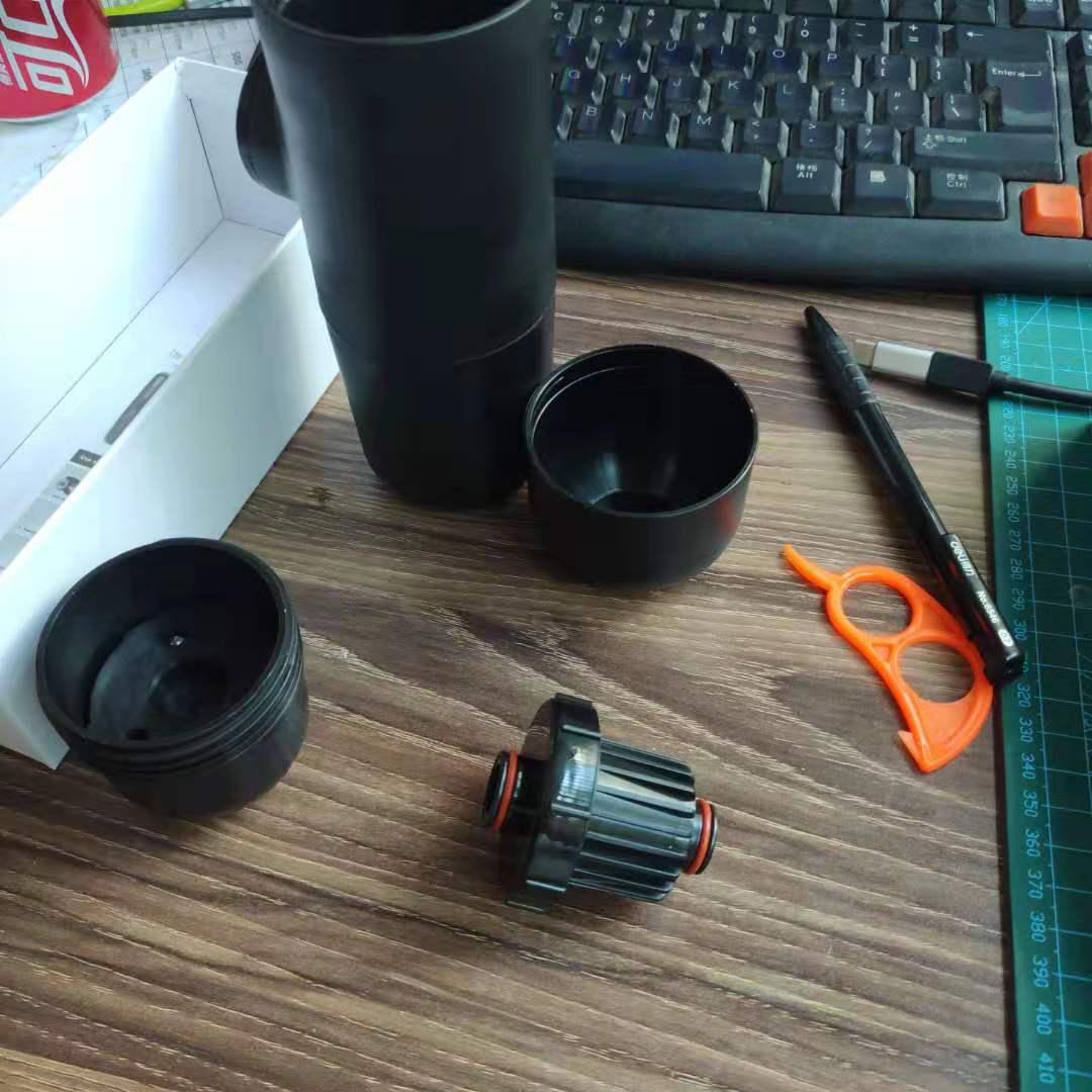 Máquina de café Manual a presión Manual para cápsulas de café