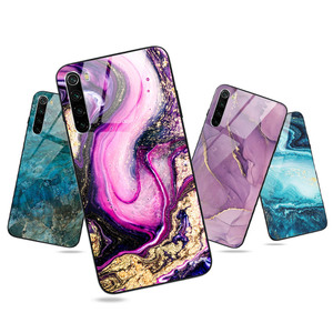 Bright Glossy Marble Case For Xiaomi Mi Note 10 Lite Cases On Redmi Note 8 Pro 8T 7A 8A 9A Redmi Note 9 Pro 9S Phone Cover Case