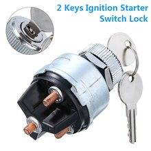 Mayitr 1 ПК зажигание стартовый переключатель замок с 2 ключами
