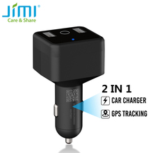 Car-Charger Gps-Tracker Jimi Mini Sound-Monitoring Realtime APP HVT001 Dual with Acc-Detection