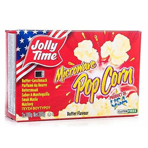 Jolly Time Butter Licious Microwave Popcorn 3 X99g Bags